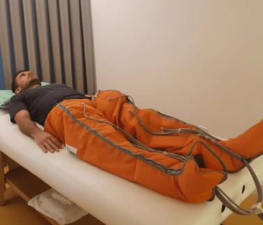 Botas Pneumáticas - Recovery - Clínica Fortius